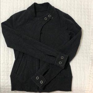 Lululemon Dark Heather Gray Jacket Size 4